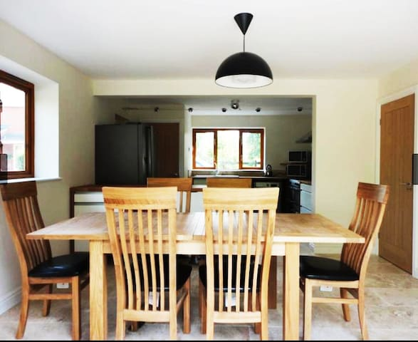 View from Dining to Kitchen
