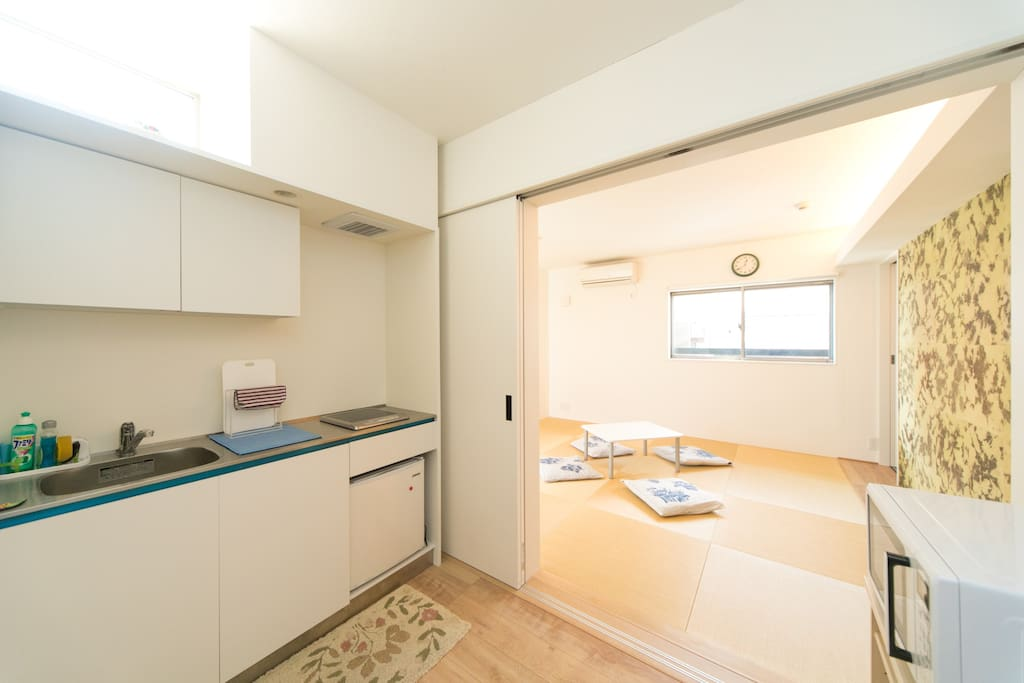 Kitchen & Bedroom
