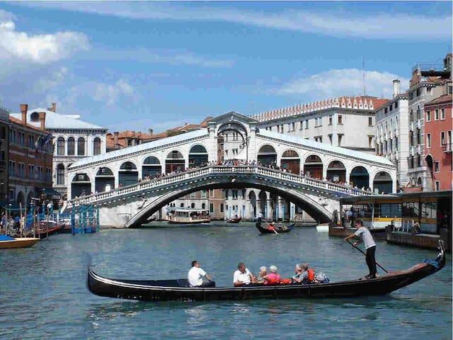 Big bright room in the heart of Venice. Super view - Venice - Apartment