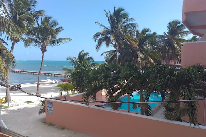 Amazing & New Beach Front Condo Caye Caulker