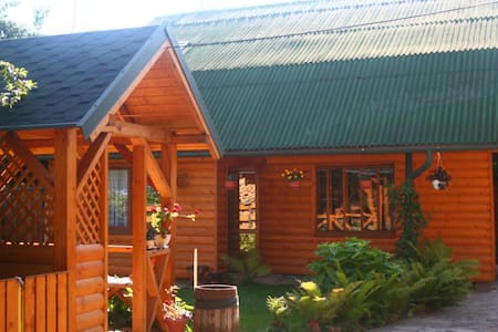 WOODEN HOUSE FOR RENT, KOLOMYIA