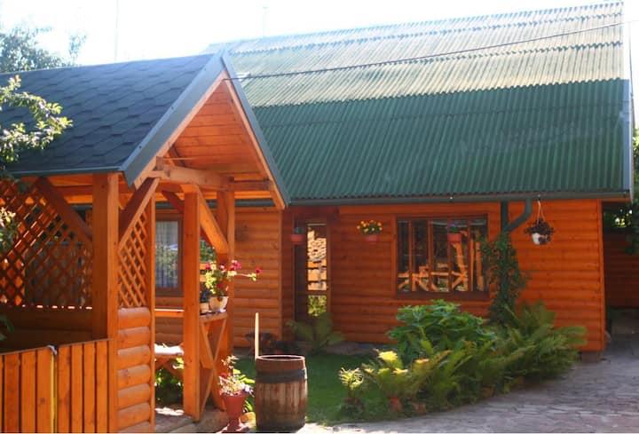 WOODEN HOUSE FOR RENT, KOLOMYIA