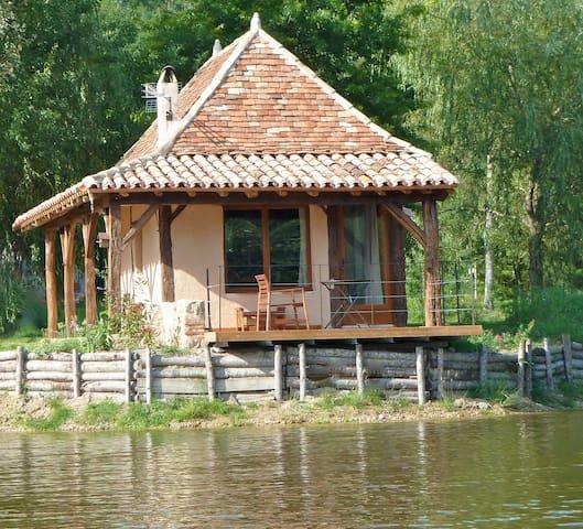 maison du pont de l'étang - Saint-Laurent-des-Hommes - Ilha