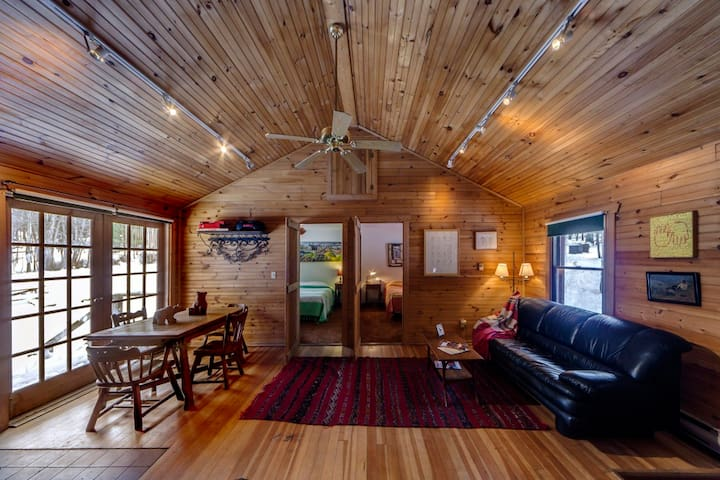 Charming Knotty Pine Cottage on 575 - Milford - Cabaña