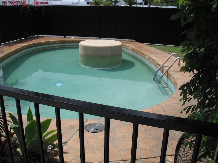 Swimming Pool & BBQ area