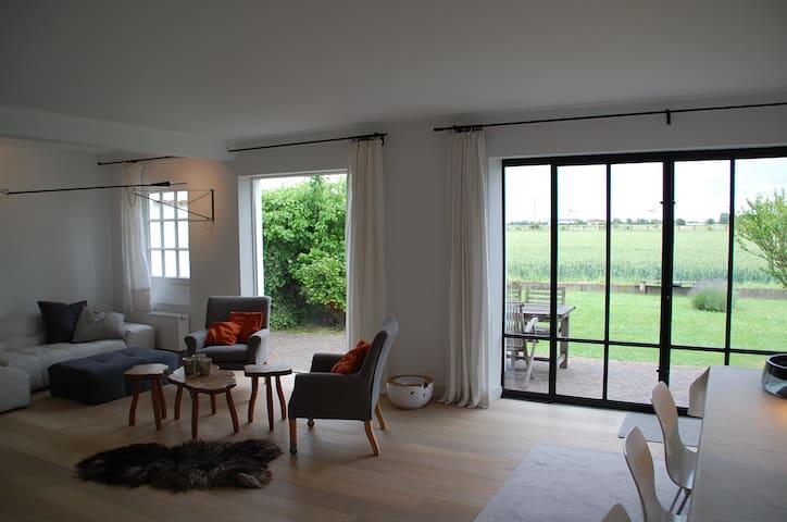 De zilte polder - Zuienkerke - Rumah