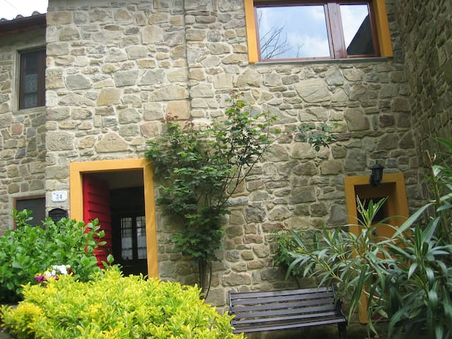 stone cottage in village of tuscany - Pistoya - Casa
