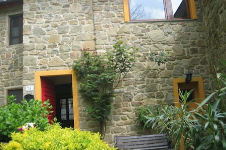 stone cottage in village of tuscany - Pistoia