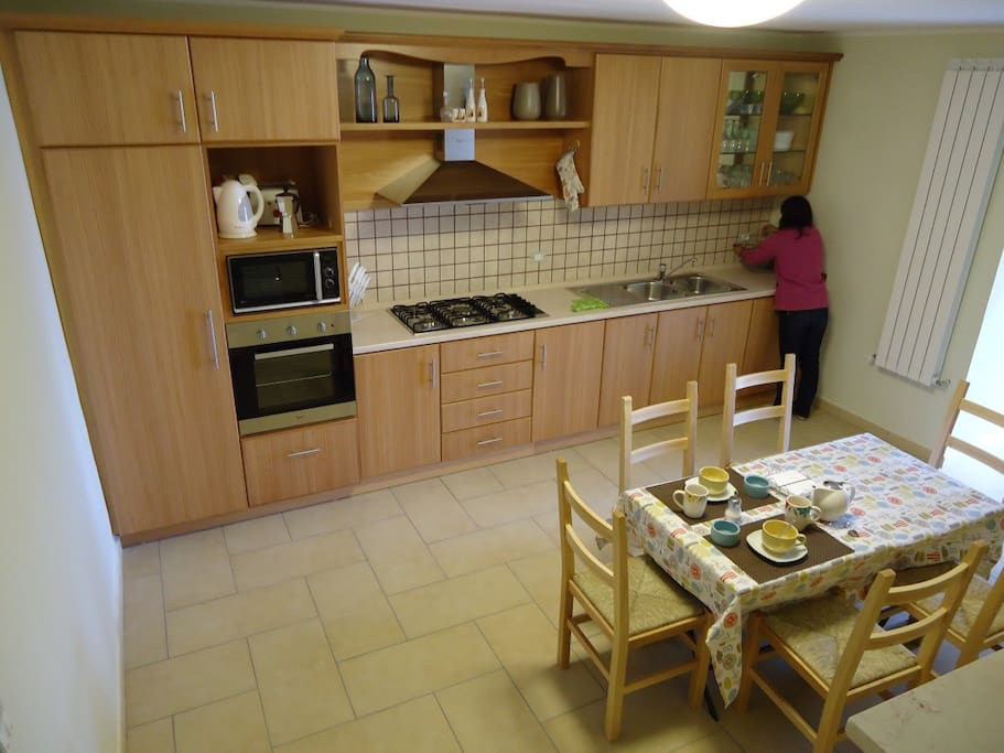 Fully Equiped Kitchen a Chefs delight