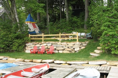 Vermont Lakefront 2 BDRM Cabin - Castleton
