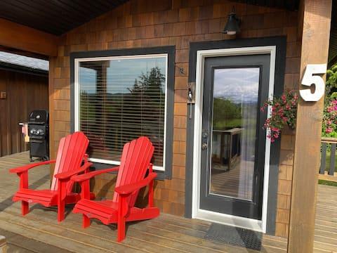 Cabin 5 at Ecoscape!