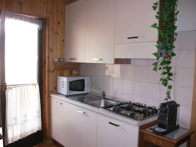 Relax In Valtellina:terme, trenino rosso e sciatt! - Vione - Apartamento