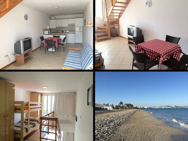 Flat5 beachfront in playa den bossa close Ushuaia - Sant Josep de sa Talaia - Huoneisto