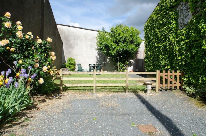 Gîte avec jardin dans le vignoble Nantais