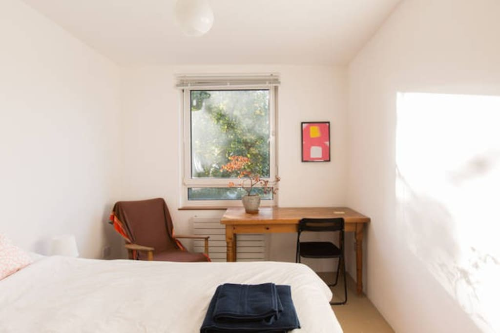 Double bedroom, fully furnished.
