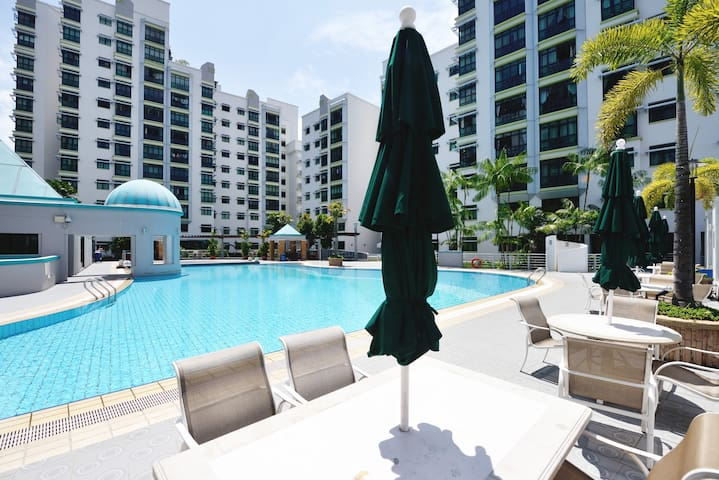 9 mins to Airport! No host staying! - Singapur - Wohnung