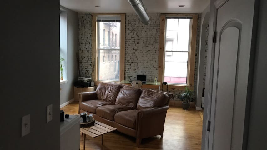 Light and Bright Urban Space in Downtown Troy - Troy - Apartament