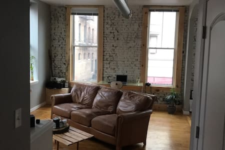 Light and Bright Urban Space in Downtown Troy - Troy - Apartment