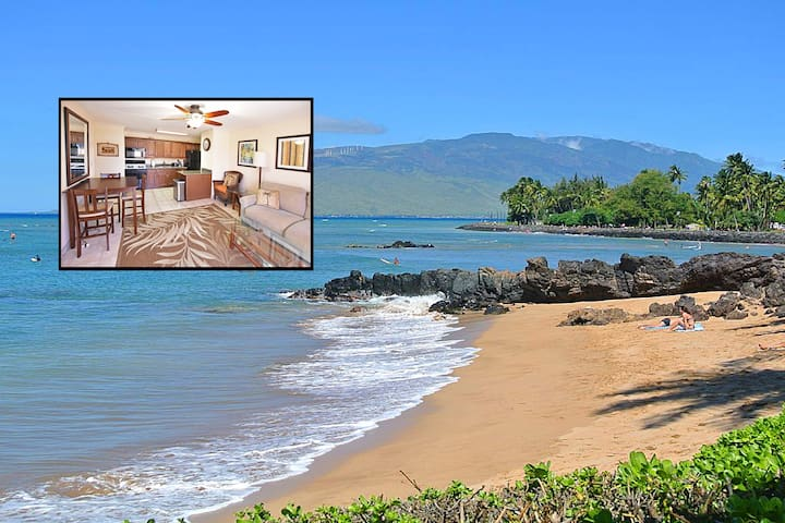 1 BR Apt steps to Cove Beach & Charley Young Beach - Kihei - Appartement