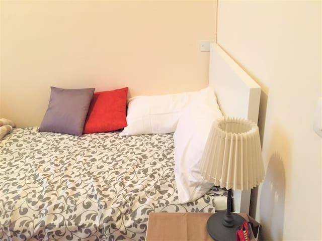 Cozy and bright room in quiet area