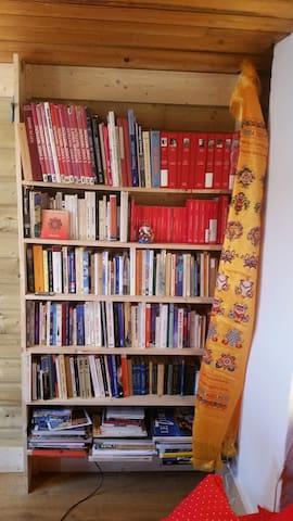 Bibliothèque de livres de voyages, d'escalade et d'alpinisme incroyable