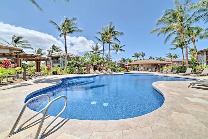 Waikoloa Townhome w/ Resort Amenities & Golf Views