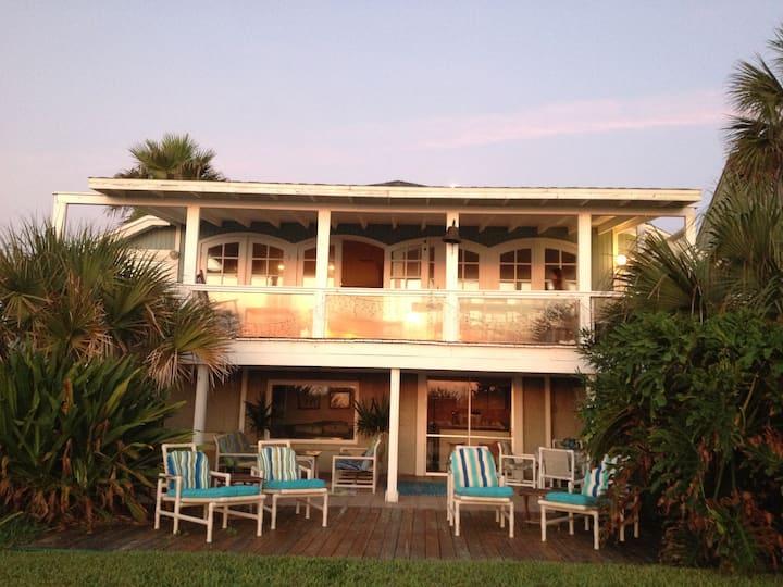 Private Oceanfront Jax Beach Apartment for  7
