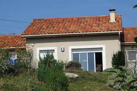 Maison de R.E.V.   Ardèche Verte - Eclassan