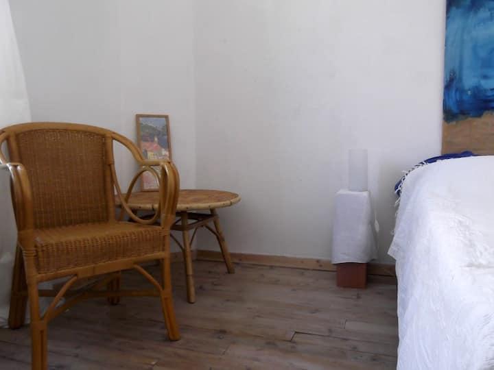 Une chambre paisible