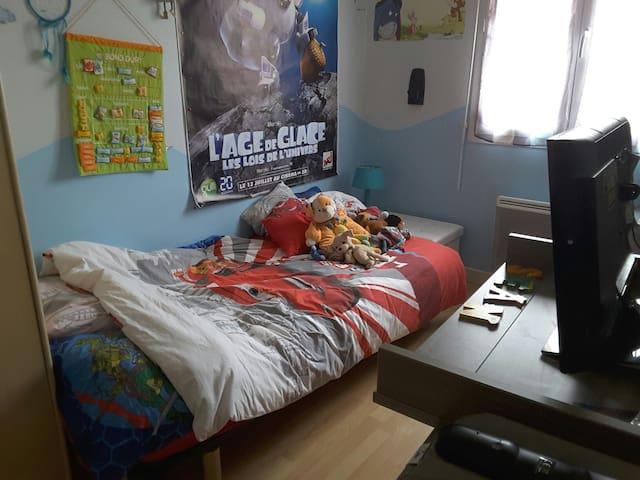 Chambre confortable 1 personne - Saint-Germain-du-Puy - Talo