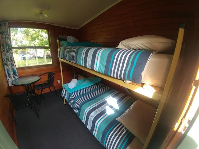 Deluxe Twin Cabin at Waiau Motor Camp 2