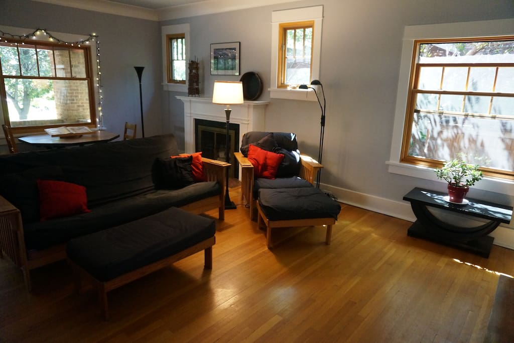 Plenty of seating in the living room
