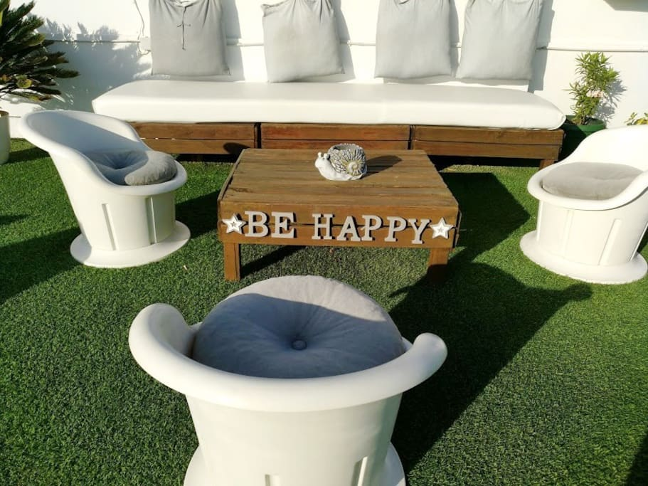 Be happy!! :-) and enjoy your stay