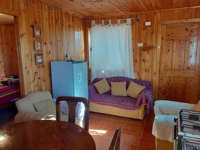 Cabaña para 4 personas en Pichilemu