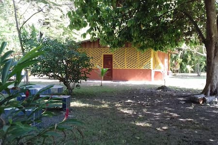 ULTIMATE BEACH PRIVACY at Casa Amarilla Cottage - Cabuya Island - บังกะโล