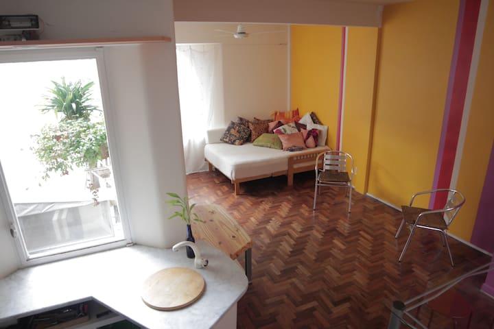 Amazing loft-like studio in Bosques de Palermo - Buenos Aires