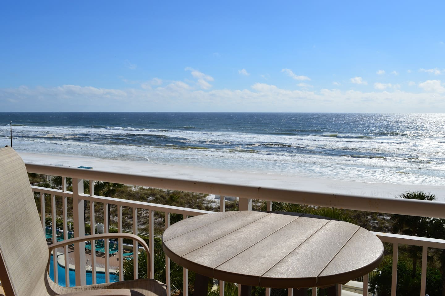 Destin Towers 51 - Balcony View