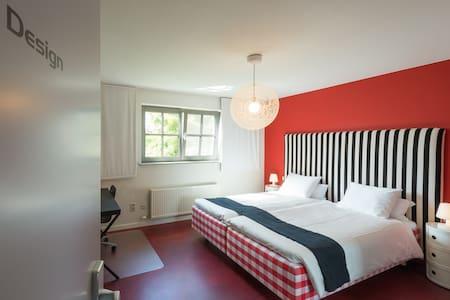 Deluxe Double/Twin Room @ Guesthouse De Rode Haas - Oud-Heverlee - 宾馆