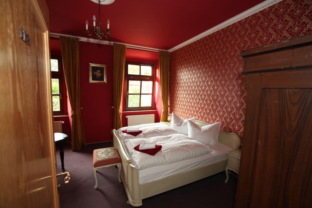 Unser gemütliches englisches Chippendale's Zimmer