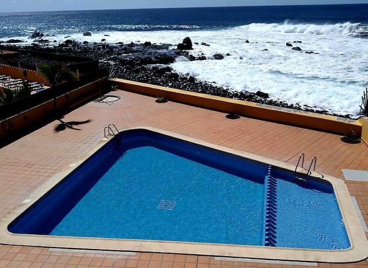 Appartement Lona mit Pool, El Cieno/ La Playa