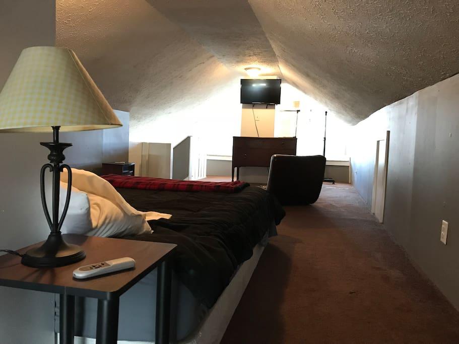 3rd Floor Loft Bedroom