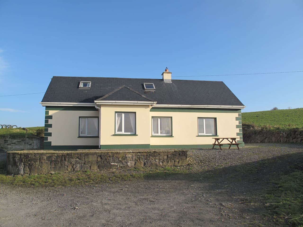 Front of The Old Farmhouse