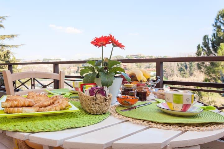 LACASAVERDEARANCIO Bed & Breakfast  - Rome - Bed & Breakfast
