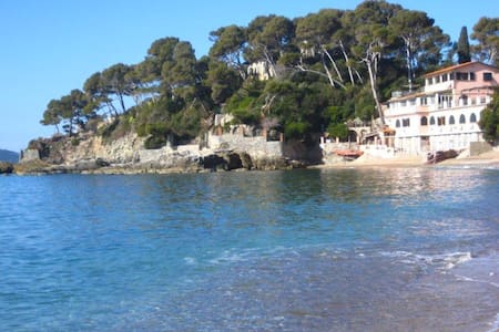 On the beach in Liguria, by 5 Terre - Tellaro - Apartment