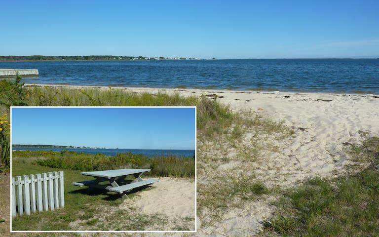 Private Community Beach on Shinnecock Bay