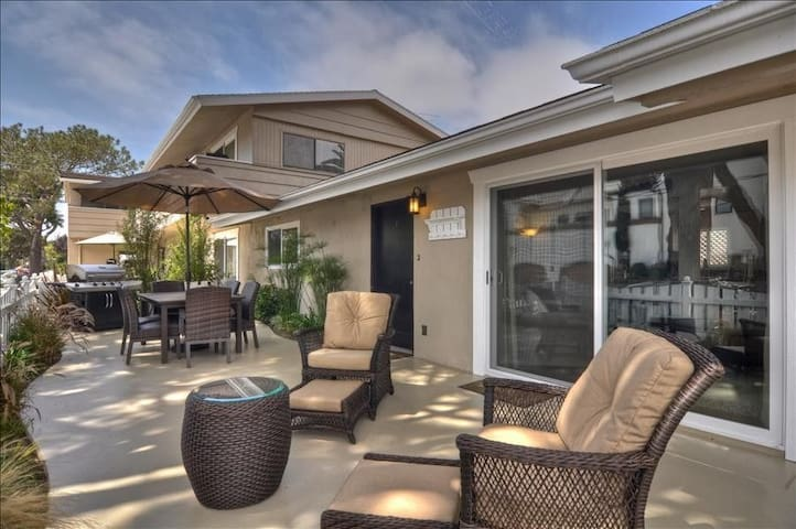 1 Bk to Beach-Lg Patio, A/C Garage - Newport Beach - Apartament