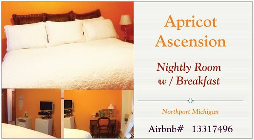 Apricot Room w/ Breakfast Northport - Northport - House