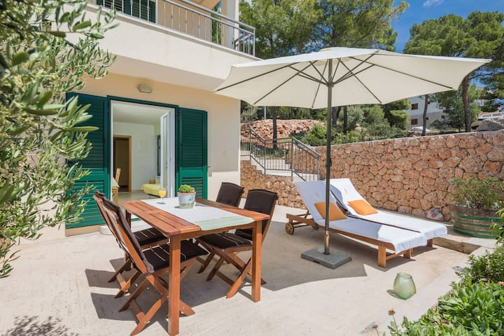 Apartment Silvana one with stunning sea view