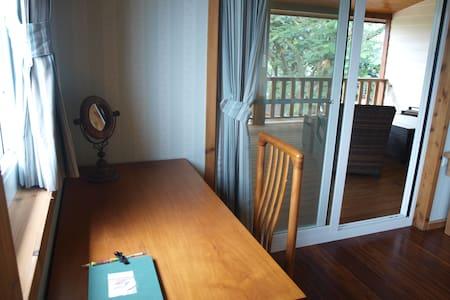 ✿ Garden view double room - 官田鄉 - Chalet