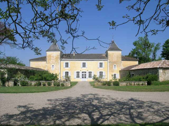 """Castle """"Péricots"""". Bordeaux. - Aillas - Hrad"""